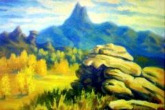 8. Пейзаж (холст, масло)