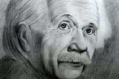 1. Портрет рисунок (бумага, карандаш)