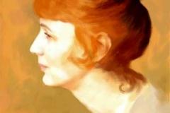 6. Портрет (холст, масло)