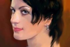 1. Портрет (цифровая живопись)