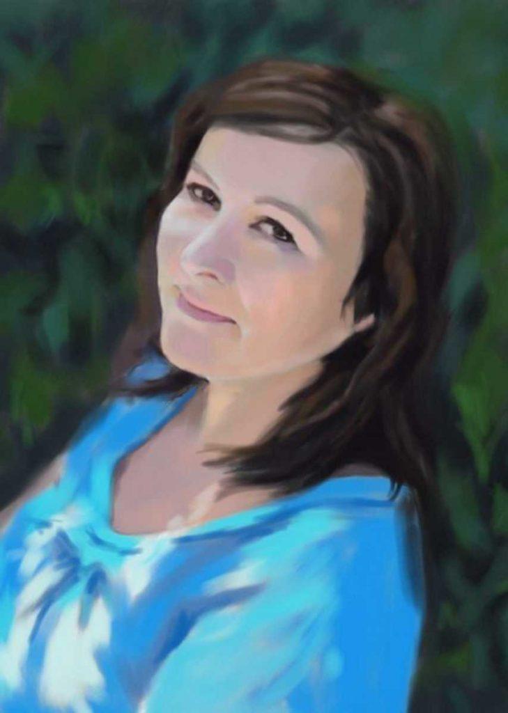 Портрет (живопись, холст, масло)